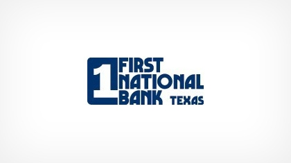 First National Bank Texas logo