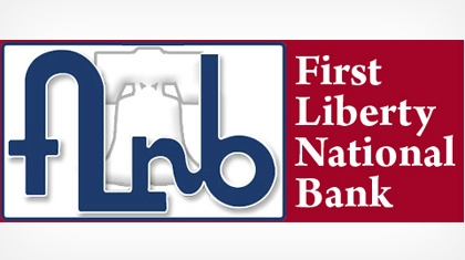 The First Liberty National Bank logo