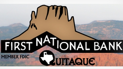 The First National Bank of Quitaque Logo