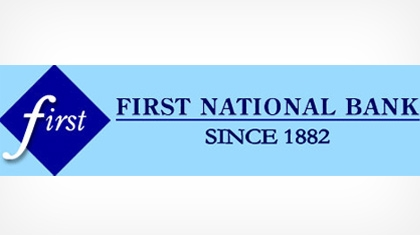 The First National Bank of Arenzville logo