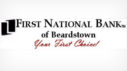 The First National Bank of Beardstown logo