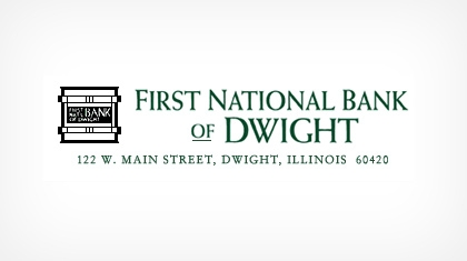 The First National Bank of Dwight logo
