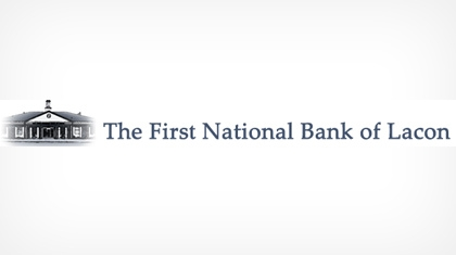 The First National Bank of Lacon logo
