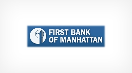 First Bank of Manhattan Logo