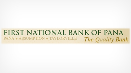 First National Bank of Pana logo