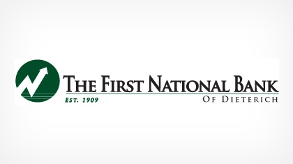 The First National Bank of Dieterich Logo