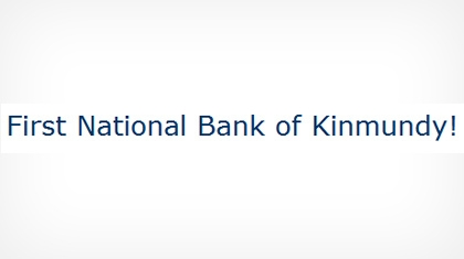 The First National Bank of Kinmundy logo