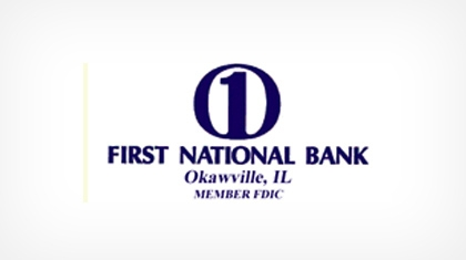 The First National Bank of Okawville logo
