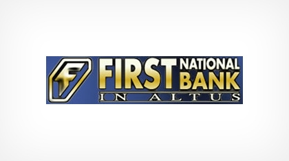 The First National Bank In Altus logo