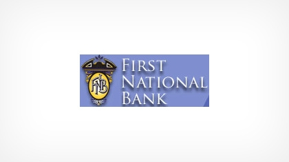 The First National Bank of Lindsay Logo