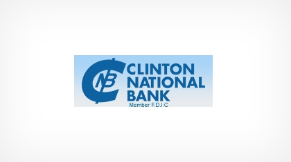 The Clinton National Bank logo