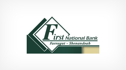 The First National Bank of Farragut Logo