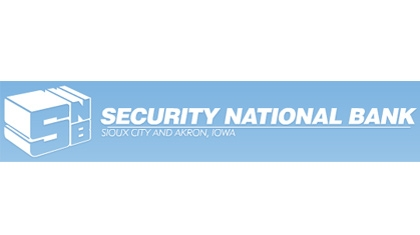 The Security National Bank of Sioux City, Iowa logo