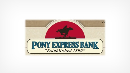 Pony Express Bank logo