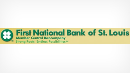 First National Bank of St. Louis logo
