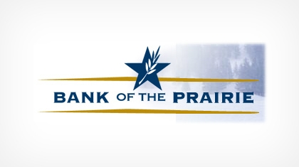 Bank of the Prairie logo
