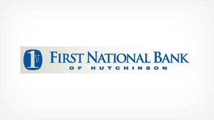 The First National Bank of Hutchinson logo