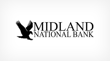 The Midland National Bank of Newton logo