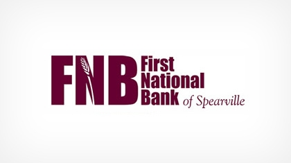 The First National Bank of Spearville logo