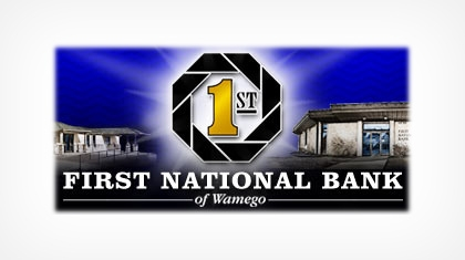 The First National Bank of Wamego Logo