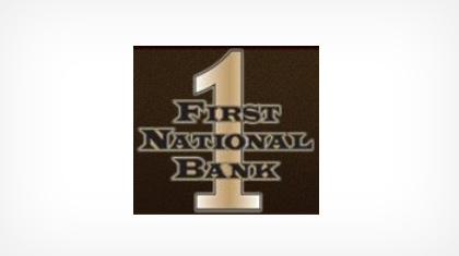 The First National Bank of Mcminnville logo