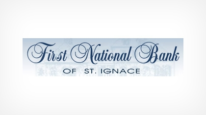The First National Bank of St. Ignace logo