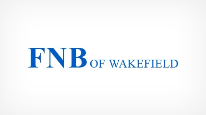 The First National Bank of Wakefield logo
