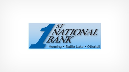 The First National Bank of Battle Lake Logo