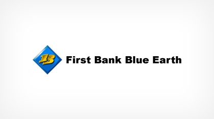 First Bank Blue Earth logo