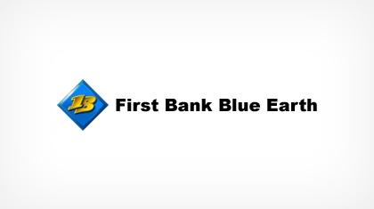 First Bank Blue Earth Logo