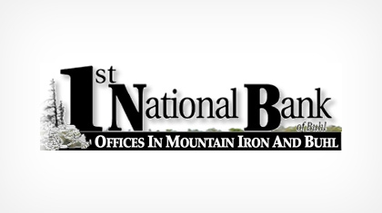 The First National Bank of Buhl logo