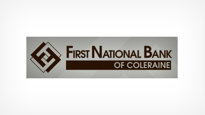 The First National Bank of Coleraine logo
