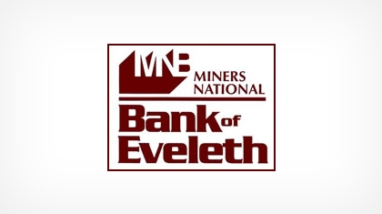 The Miners National Bank of Eveleth Logo