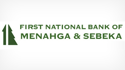 First National Bank of Menahga & Sebeka logo