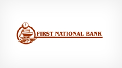 The First National Bank of Plainview logo