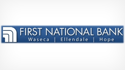 The First National Bank of Waseca Logo