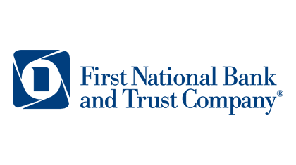 First National Bank and Trust Company logo