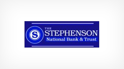 The Stephenson National Bank and Trust logo
