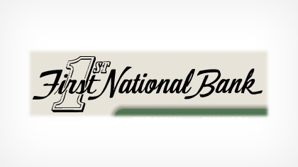 The First National Bank of Park Falls logo