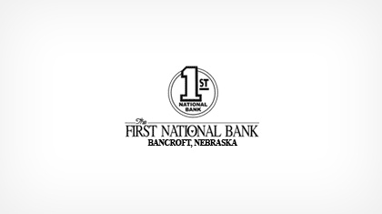 The First National Bank of Bancroft logo
