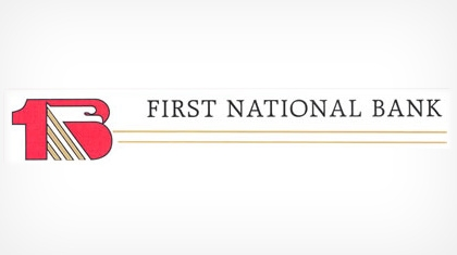 The First National Bank of Wahoo logo