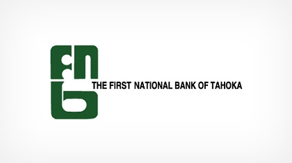 The First National Bank of Tahoka logo