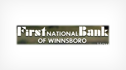 The First National Bank of Winnsboro Logo