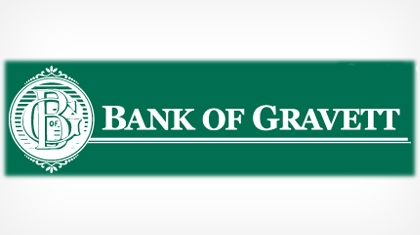 Bank of Gravett logo