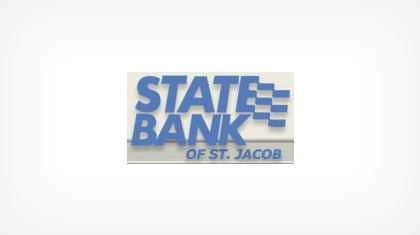 State Bank of St. Jacob logo