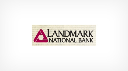 Landmark National Bank logo