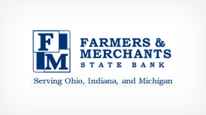 The Farmers & Merchants State Bank logo