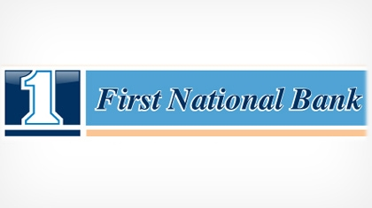 The First National Bank of Bellevue Logo