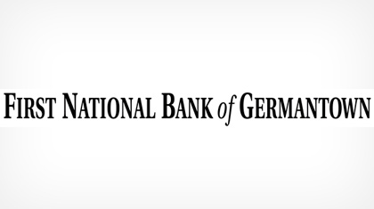 The First National Bank of Germantown logo