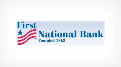 The First National Bank of Mcconnelsville Logo